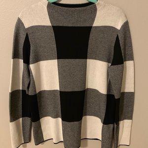 J.Jill Buffalo Plaid Sweater